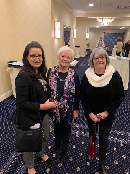 From left, Marisa Vega of Dracut, Carol Fredette of Chelmsford and Nancy Ashley of Hudson