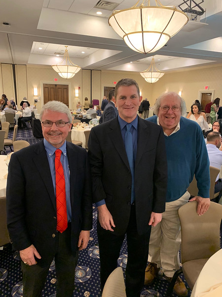 From left, Jerry Frechette of Lowell, George Byron of Tyngsboro and Alan Rosen of Andover