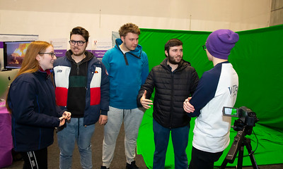 "22/11/2019. FREE TO USE IMAGE. Pictured at Waterford Institute of Technology (WIT) Open Day are Pictured are Leanne Phillips, Wesley Demaine, Sarunas Cecenikovas, James Demaine from Waterford with Killian Fitzgerald of WIT. Picture: Patrick Browne  Two open days taking place this week for school leavers and adult learners at WIT Arena  Families of south east Leaving Cert students wishing to get as much course and college-related research done as early as possible in sixth year can do so by attending the Waterford Institute of Technology (WIT) Saturday Open Day, 9am-2pm on 23 November 2019. The traditional schools' open day will run as usual on Friday, 22 November with a focus on information for secondary school students, students in further education colleges, and other CAO applicants, including mature students.  The Saturday Open Day – isn't just about courses for school leavers – it will have information available on the courses available across WIT's schools of Lifelong Learning, Humanities, Engineering, Science & Computing, Health Sciences, Business.  Adults interested in upskilling, or re-skilling can find out about Springboard courses, traditional evening courses as well as part-time and postgrad courses which are offered. WIT also runs specialist programmes for education, science, engineering and other professionals. The number of students studying WIT's part-time and online courses increased to 1650 in 2018, a 28% increase on 2017.  WIT Registrar Dr Derek O'Byrne says: ""A trend we are seeing at WIT Open Days is that students who may have enjoyed the Schools Open day with their friends and school groups, will return the following day with their parents or guardians.""  Students whose schools are attending are encouraged to join their school group on the Friday. As school students are fully catered for at the Schools' Open Day on Friday, there will not be the same breadth of school leaver focused talks and events at the open day on Saturday. H"