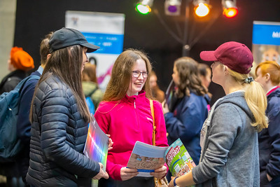 "22/11/2019. FREE TO USE IMAGE. Pictured at Waterford Institute of Technology (WIT) Open Day. Pictured are Aoife Whelan, Deirdre Walsh and Amber Lawlor from Our lady of Lourdes, New Ross. Picture: Patrick Browne  Two open days taking place this week for school leavers and adult learners at WIT Arena  Families of south east Leaving Cert students wishing to get as much course and college-related research done as early as possible in sixth year can do so by attending the Waterford Institute of Technology (WIT) Saturday Open Day, 9am-2pm on 23 November 2019. The traditional schools' open day will run as usual on Friday, 22 November with a focus on information for secondary school students, students in further education colleges, and other CAO applicants, including mature students.  The Saturday Open Day – isn't just about courses for school leavers – it will have information available on the courses available across WIT's schools of Lifelong Learning, Humanities, Engineering, Science & Computing, Health Sciences, Business.  Adults interested in upskilling, or re-skilling can find out about Springboard courses, traditional evening courses as well as part-time and postgrad courses which are offered. WIT also runs specialist programmes for education, science, engineering and other professionals. The number of students studying WIT's part-time and online courses increased to 1650 in 2018, a 28% increase on 2017.  WIT Registrar Dr Derek O'Byrne says: ""A trend we are seeing at WIT Open Days is that students who may have enjoyed the Schools Open day with their friends and school groups, will return the following day with their parents or guardians.""  Students whose schools are attending are encouraged to join their school group on the Friday. As school students are fully catered for at the Schools' Open Day on Friday, there will not be the same breadth of school leaver focused talks and events at the open day on Saturday. However, says Dr O'Byrne it is usefu"