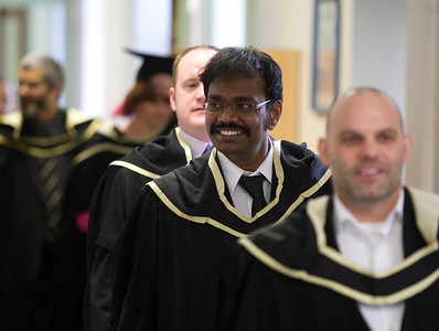 5/1/2012. News. Free to use image. Waterford Institute of Technology (WIT) conferring ceremony. Pictured Vasanthraj Balasubramanian, Newbridge who graduated Master of Science in Construction Project Management. Photo Patrick Browne