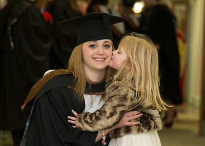 Pictured is Aideen Codd from Rathnure, Co. Wexford with her daughter Emma. Aideen graduated  Bachelor of Science (Hons) in Psychiatric Nursing. Picture: Patrick Browne