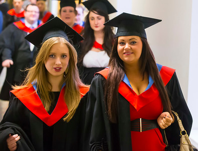 06/01/2014. FREE TO USE IMAGE. Waterford Institute Of Technology Conferring. Picture: Patrick Browne