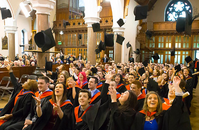 Waterford Institute Of Technology Conferring. Pictured at WIT Waterford Institute Of Technology Conferring are graduates Languages, Tourism and Hospitality and Enginerering Technology. Picture: Patrick Browne