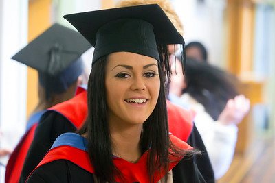 Waterford Institute Of Technology Conferring. Pictured at WIT Waterford Institute Of Technology Conferring are Nicola Ryan, Kilkenny who graduated Higher Cert in Arts in Legal Studies. Picture: Patrick Browne