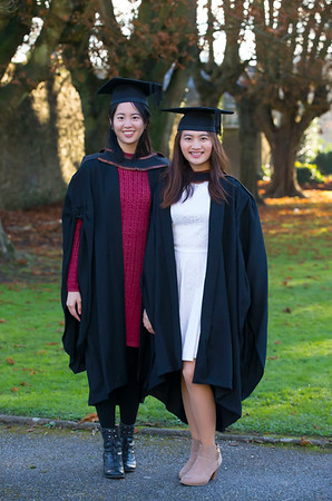 02/11/2017. Waterford Institute of Technology Conferring are Kiat Fong and Megan Liew from Malaysia-Waterford who graduated Bachelor of Arts (Hons) in Accounting. Picture: Patrick Browne