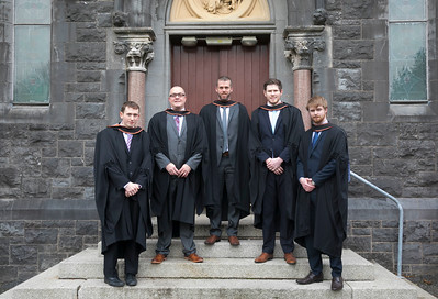 03/11/2017. Waterford Institute of Technology Conferring are Damien Kavanagh,Waterford, Paul Quinlan, Tramore, Patrick Bolger, Waterford, Glenn Condon, Ferrybank and Ian Coffey from Clonmel . Picture: Patrick Browne.