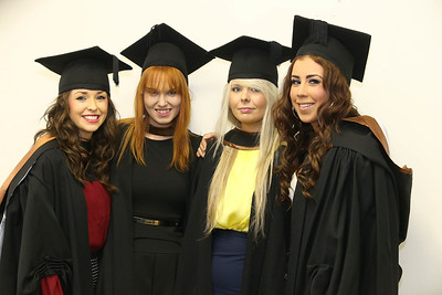 Pictured are Niamh Duggan, Cork Orla O'Keefe, Kikenny, Emma Walsh, Kilkenny and Karen Maher, Kilkenny graduated in Bachelor Science Hons. General Nursing. Picture: Patrick Browne