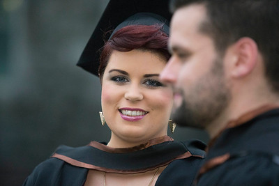 Pictured is Kate Murphy from Cork who graduated in Bachelor of Arts Honours in Psychiatric Nursing. Picture: Patrick Browne