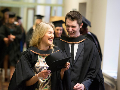 Pictured are Michelle Holland, Kilkenny and Brian Kennedy Tramore, Co. Waterford who graduated in Bachelor of Arts Honours in General Nursing. Picture: Patrick Browne