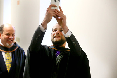 Waterford Institute Of Technology Conferring. Pictured at WIT Waterford Institute Of Technology Conferring is Michael Curtis, Wellingtonbridge, Co Wexford who graduated Bachelor of Science (Honours) in Manufacturing Engineering. Picture: Patrick Browne
