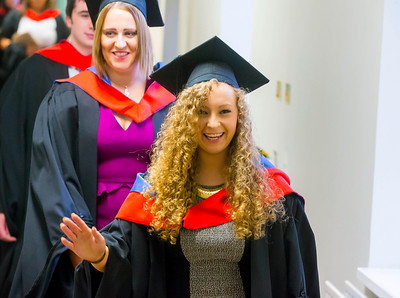 Waterford Institute Of Technology Conferring. Pictured at WIT Waterford Institute Of Technology Conferring is Eimear Brazil, Waterford who graduated Higher Cert in Arts in Culinary Arts. Picture: Patrick Browne