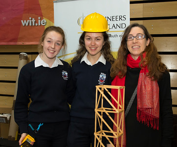 8/3/2018 Image Free to Use Waterford Institute of Technology celebrate international women's day. Be brave in the choices you make – secondary school students hear on International Women's Day.  From left; Eimear Doyle and Sophie Jackman Abbey College Ferrybank and Susan Gallagher WIT.Photo;Mary Browne