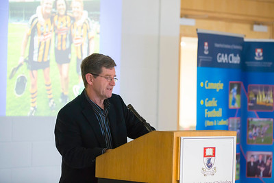 WIT holds event to honour 2016 All Ireland medal winning students. Pictured is Eugene McKenna, President of WIT GAA Club. Picture: Patrick Browne  Waterford Institute of Technology's presence and influence across Gaelic Games at a national level in 2016 has been very noticeable. In total there are 32 past and present WIT students on the respective playing panels that won All Ireland medals in 2016 and a further 4 members on the backroom management teams.   To honour this huge achievement, WIT GAA Club is paying tribute to these 36 past members on securing these prestigious national titles on Monday 3 October, 6.30pm at the WIT Arena.   Along with the players, the prestigious cups, including the All Ireland Senior Hurling Cup- Liam McCarthy, the All Ireland Senior Camogie Cup- O'Duffy, The All Ireland Minor Cup and the All Ireland Under 21 Hurling Cup- James Nowlan, will be on show on the night.