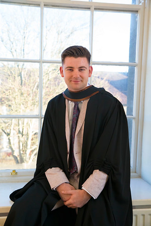 01/11/2018. Waterford Institute of Technology (WIT) Conferring Ceremonies 2018. Pictured is Luke Rafter Wexford. Picture: Patrick Browne
