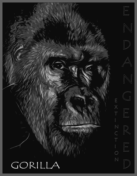 Gorilla Profile Painting 2013.jpg