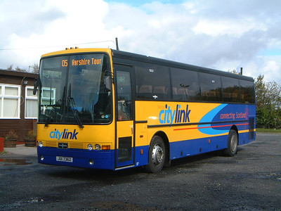 WJC Coaches Chapelhall JIL7263 Marbills Depot Beith Oct 04