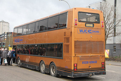 WJC Coaches Chapehall BIG9871 Cowcaddens Rd Glas 2 Mar 12