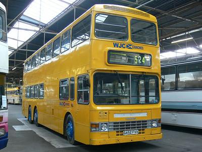 WJC Coaches Chapelhall G452FVX GVVT Bridgeton 2 Oct07