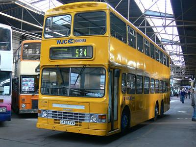 WJC Coaches Chapelhall G452FVX GVVT Bridgeton 1 Oct 07