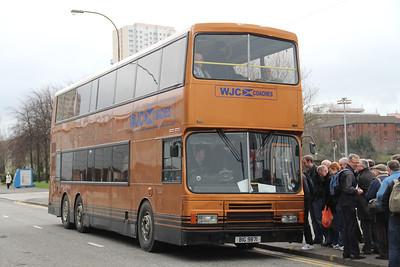 WJC Coaches Chapehall BIG9871 Cowcaddens Rd Glas 4 Mar 12