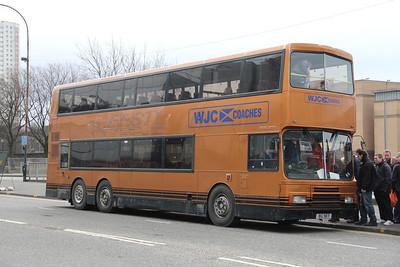 WJC Coaches Chapehall BIG9871 Cowcaddens Rd Glas 31 Mar 12