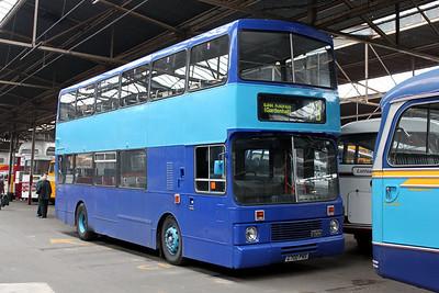 WJC Coaches Chapelhall B700PKS GVVT Bridgeton Oct 10