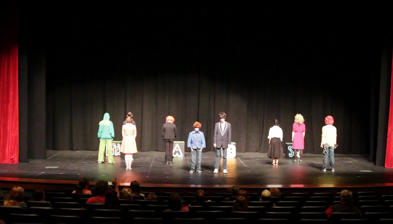 WJHS Forensics performance of The Muppets at FHS Forensics Tournament 3/8/2013