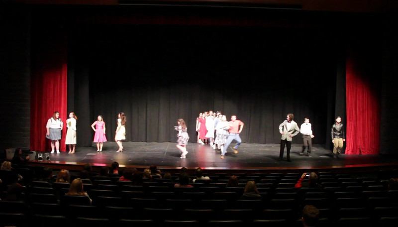 BHS Forensics performance of Hairspray at FHS Forensics Tournament 3/8/2013