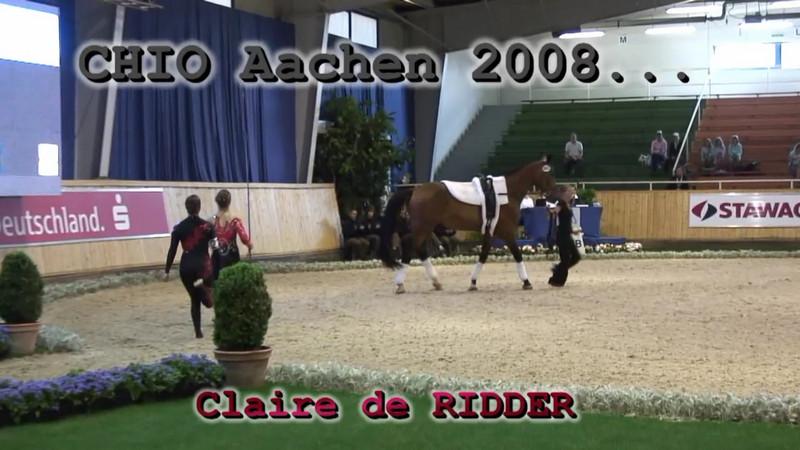 RIDDER, Claire de