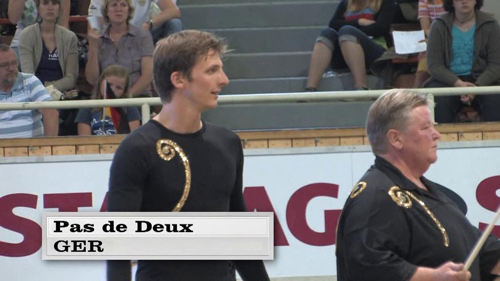 HOFMANN, Sophie WOLF, Moritz  Pas de Deux - Freestyle Test