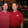 Craig Cole and WKU Coach Jeff Brohm.