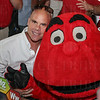 Nick Holt and Big Red.