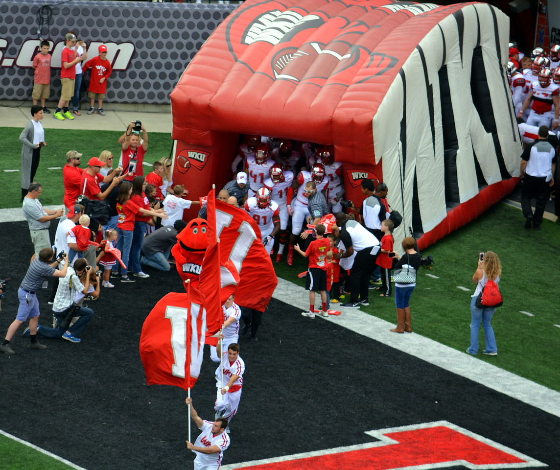 Here come the Hilltoppers!