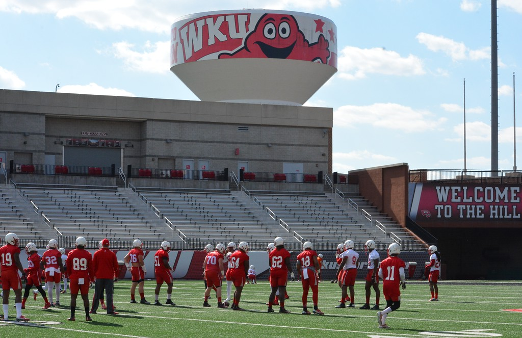 Spring practice begins on The Hill