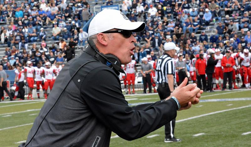 ODU head coach Bobby Wilder