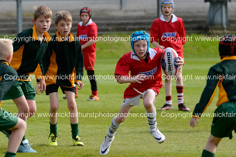 "Wigan and Leigh Champion Schools Finals 2016, Edge Hall Road, Orrell, Tuesday 24th May 2016:  St Williams v St Matthew's.  Picture by  <a href=""http://www.nickfairhurstphotographer.com"">http://www.nickfairhurstphotographer.com</a>"