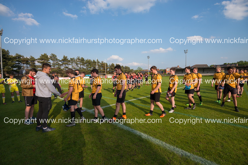 "Year 10 Wigan and Leigh Champion Schools Final 2016, St Peter's v St John Fisher, Edge Hall Road, Orrell, Friday 27th May 2016:  St Peter's.  Picture by  <a href=""http://www.nickfairhurstphotographer.com"">http://www.nickfairhurstphotographer.com</a>"