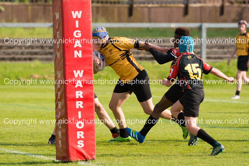 "Year 10 Wigan and Leigh Champion Schools Final 2016, St Peter's v St John Fisher, Edge Hall Road, Orrell, Friday 27th May 2016.  Picture by  <a href=""http://www.nickfairhurstphotographer.com"">http://www.nickfairhurstphotographer.com</a>"