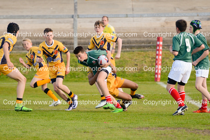 """Year 9 Wigan and Leigh Champion Schools Final 2016, St Edmund Arrowsmith v St Peter's, Edge Hall Road, Orrell, Tuesday 24th May 2016.  Picture by  <a href=""""http://www.nickfairhurstphotographer.com"""">http://www.nickfairhurstphotographer.com</a>"""