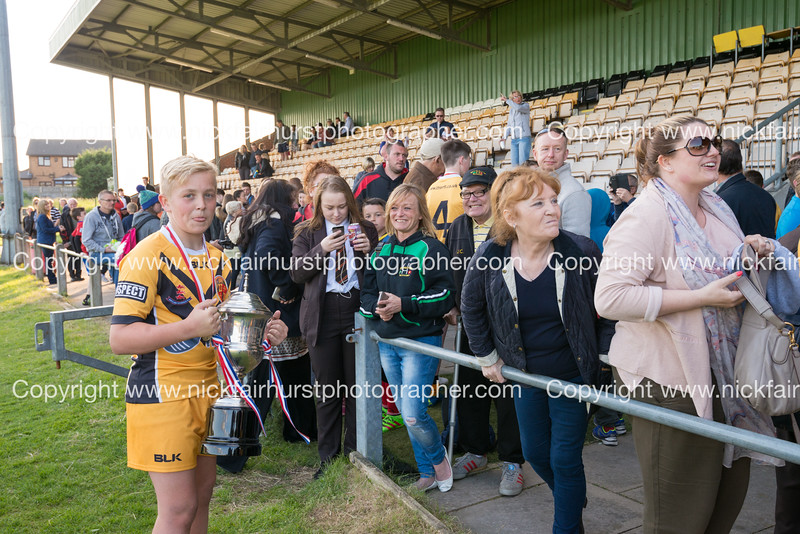 """Year 9 Wigan and Leigh Champion Schools Final 2016, St Edmund Arrowsmith v St Peter's, Edge Hall Road, Orrell, Tuesday 24th May 2016:  St Peter's.  Picture by  <a href=""""http://www.nickfairhurstphotographer.com"""">http://www.nickfairhurstphotographer.com</a>"""