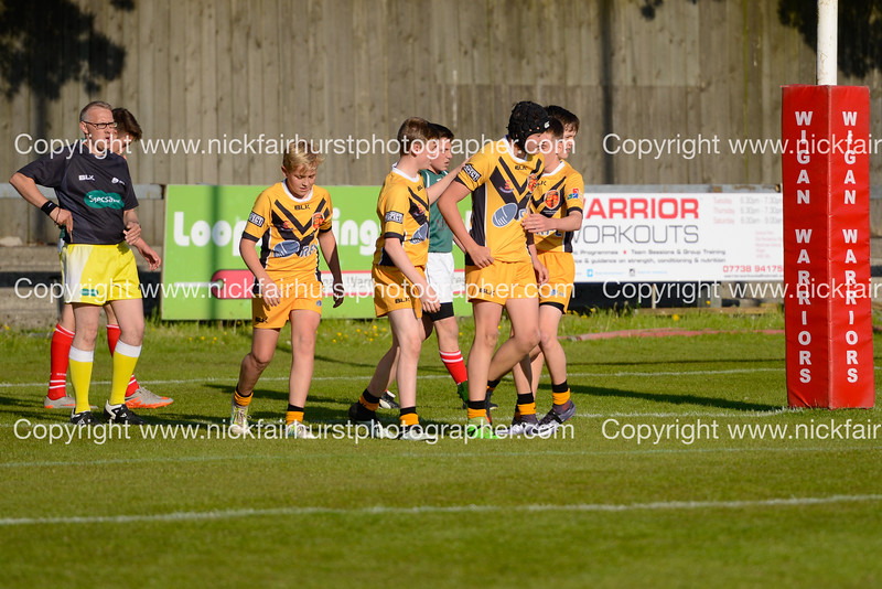 "Year 9 Wigan and Leigh Champion Schools Final 2016, St Edmund Arrowsmith v St Peter's, Edge Hall Road, Orrell, Tuesday 24th May 2016.  Picture by  <a href=""http://www.nickfairhurstphotographer.com"">http://www.nickfairhurstphotographer.com</a>"