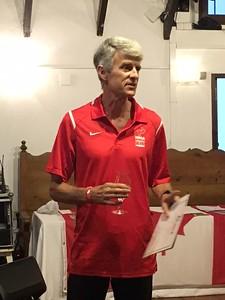 Paul speaking as Canadian Masters President