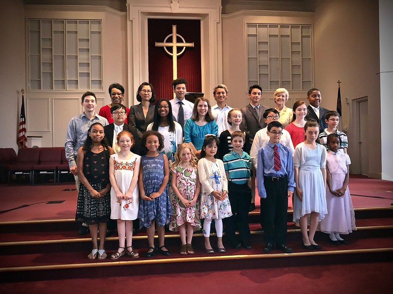 GOLD CUP/SENIOR SCHOLARSHIP RECITAL & STUDENT RECITAL<br /> St. Paul United Methodist Church, Woodbridge, VA - May 15, 2016