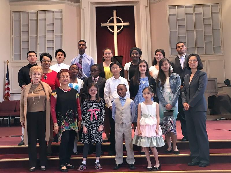 GOLD CUP/SENIOR SCHOLARSHIP RECITAL & STUDENT RECITAL<br /> St. Paul United Methodist Church, Woodbridge, VA - May 15, 2016
