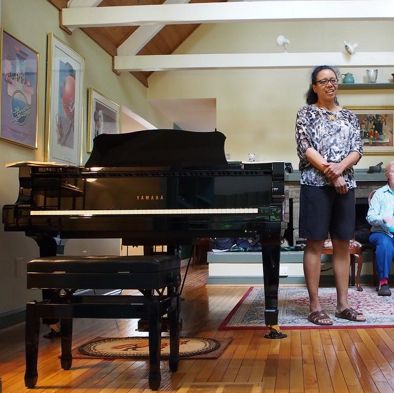 WMC House Concert, June 4, 2016. At Katie & Peter's house.