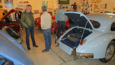 Lots of interest in J's Jaguars and other marques.