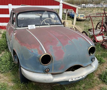 Here's an example of a lesser known foreign model, a Panhard.