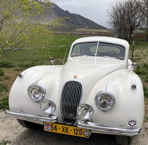 The Cady XK120 Fixed Head Coupe joined us at the Millstream Classic Car Museum in Willard UT.
