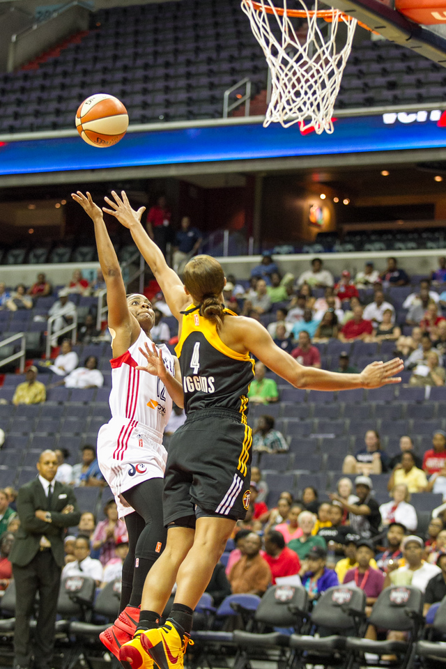 WNBA: JUN 19  Shock at Mystics